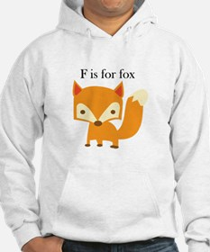 F Is For Fox Hoodie