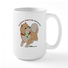 Blond Pomeranian Mugs