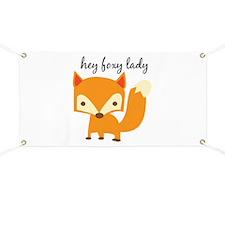 Foxy Lady Banner
