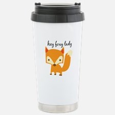 Foxy Lady Travel Mug