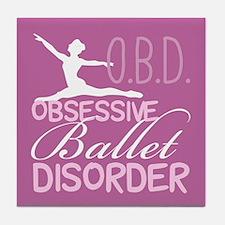 Ballet Pink Tile Coaster