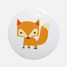 Sly Fox Ornament (Round)
