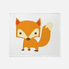 Sly Fox Throw Blanket