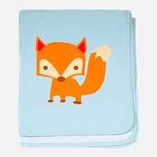 Sly Fox baby blanket