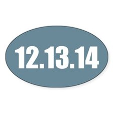 12.13.14 Decal