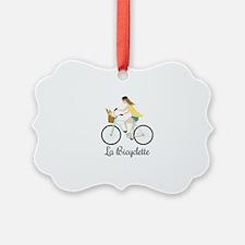 La Bicyclette Ornament