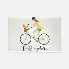 La Bicyclette Magnets