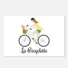 La Bicyclette Postcards (Package of 8)