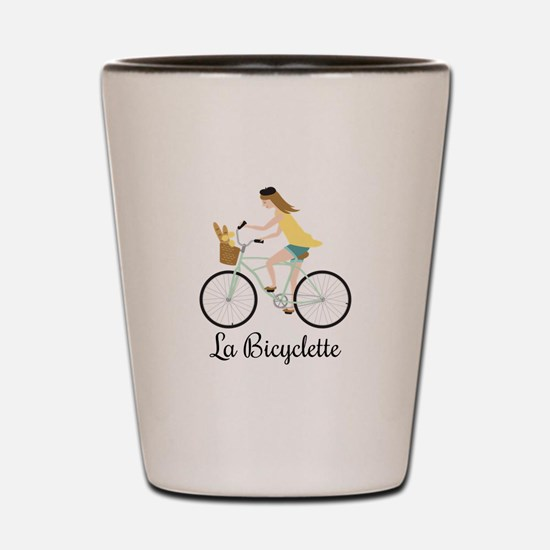 La Bicyclette Shot Glass