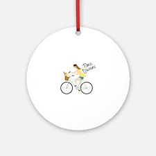 Paris Toujours Ornament (Round)