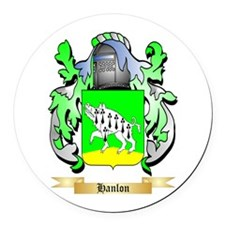 Hanlon Round Car Magnet