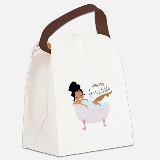 Currently Unavailable Canvas Lunch Bag