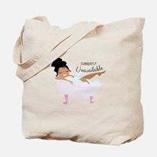 Currently Unavailable Tote Bag