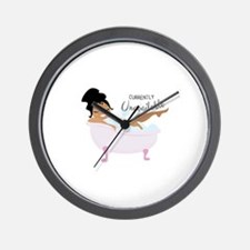 Currently Unavailable Wall Clock