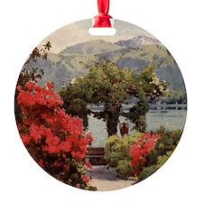 Vintage Lake Como, Italy Ornament
