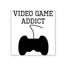 Video Game Addict Sticker