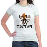 Hell Hath No Fury - Trucker's W Jr. Ringer T-Shirt