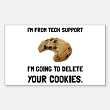 Tech Support Cookies Decal