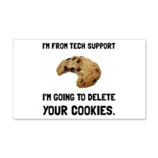 Tech Support Cookies Wall Decal