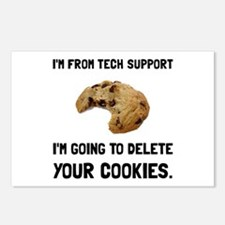 Tech Support Cookies Postcards (Package of 8)