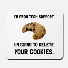 Tech Support Cookies Mousepad
