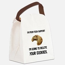 Tech Support Cookies Canvas Lunch Bag
