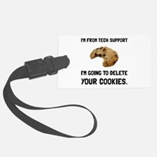 Tech Support Cookies Luggage Tag