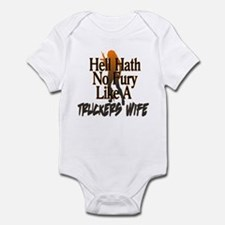 Hell Hath No Fury - Trucker's Wife Infant Bodysuit