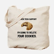 Tech Support Cookies Tote Bag