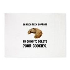 Tech Support Cookies 5'x7'Area Rug