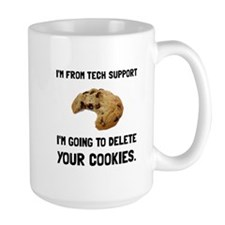 Tech Support Cookies Mugs