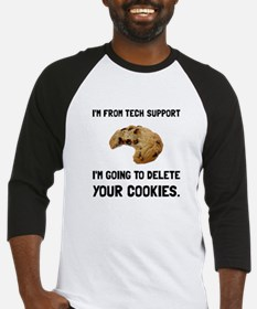 Tech Support Cookies Baseball Jersey