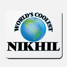 World's Coolest Nikhil Mousepad