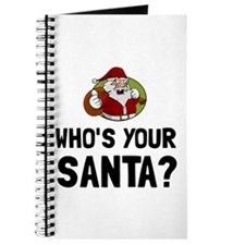 Who Is Your Santa Journal