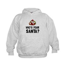 Who Is Your Santa Hoodie