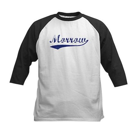 Morrow - vintage (blue) Kids Baseball Jersey