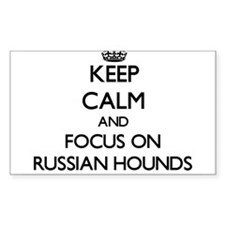 Keep calm and focus on Russian Hounds Decal