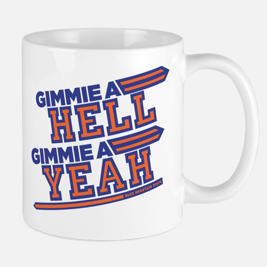 Blue Mountain State Gimme Hell Yeah Mugs