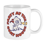 Party At The Goat House Mugs