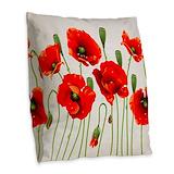 Floral Burlap Pillows