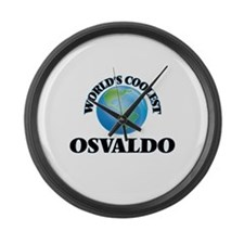 World's Coolest Osvaldo Large Wall Clock