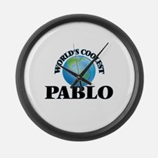 World's Coolest Pablo Large Wall Clock
