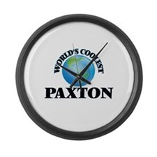 World's Coolest Paxton Large Wall Clock