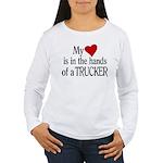 My Heart in the Hands Women's Long Sleeve T-Shirt