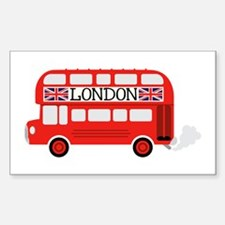 London Double Decker Decal