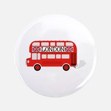 "London Double Decker 3.5"" Button"