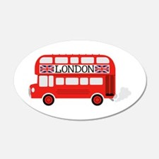 London Double Decker Wall Decal
