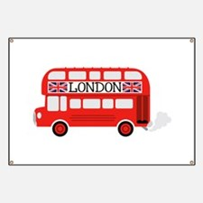 London Double Decker Banner