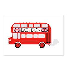 London Double Decker Postcards (Package of 8)
