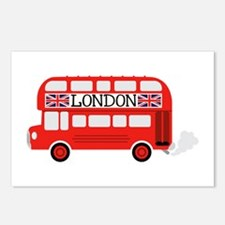 London Double Decker Postcards (Package of 8)